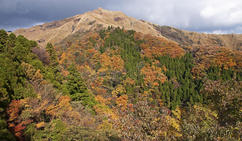 Views in the area of Aso - Japan stock images