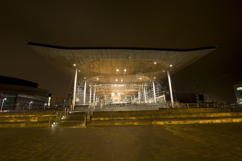 Views around Cardiff Bay royalty free stock photos