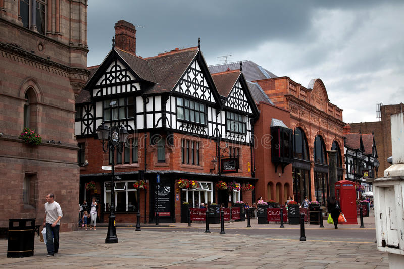Download Views around Chester editorial image. Image of historic - 20490015