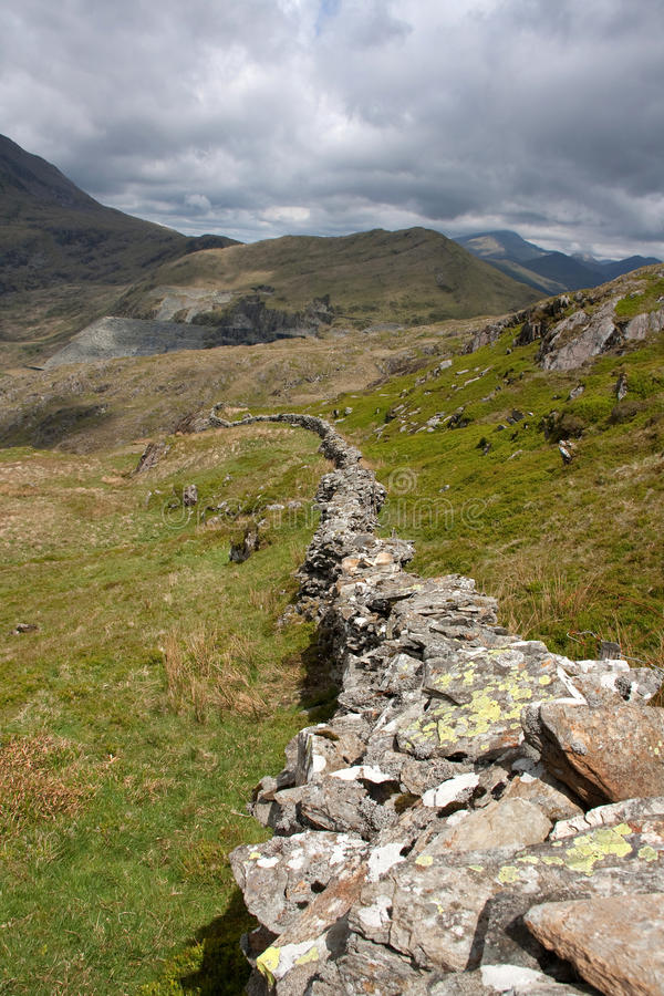 Download Views around Cwmystradllyn stock image. Image of landscape - 14623069