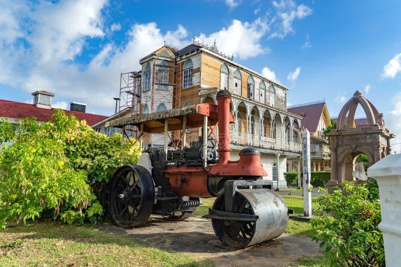 Views around Georgetown, Guyana. Avenue of the Republic - Views around Georgetown the capital city of Guyana stock photography
