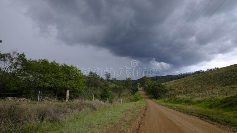 Views around Millfield and Cessnock in the Hunter Valley, NSW, Australia royalty free stock photos