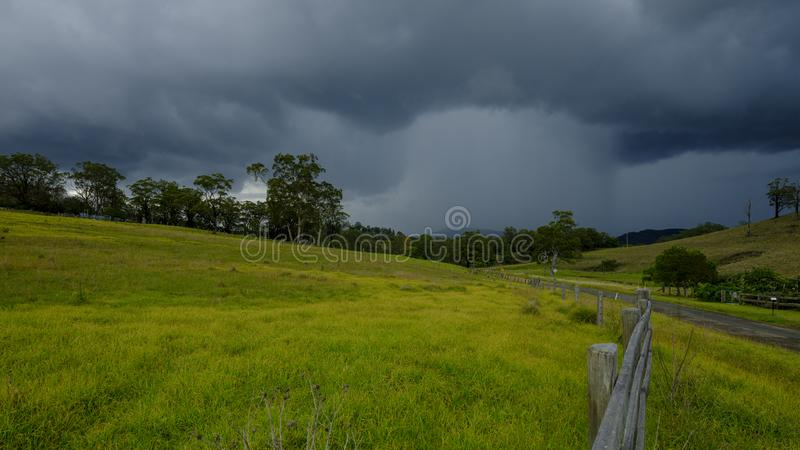Views around Millfield and Cessnock in the Hunter Valley, NSW, Australia royalty free stock image