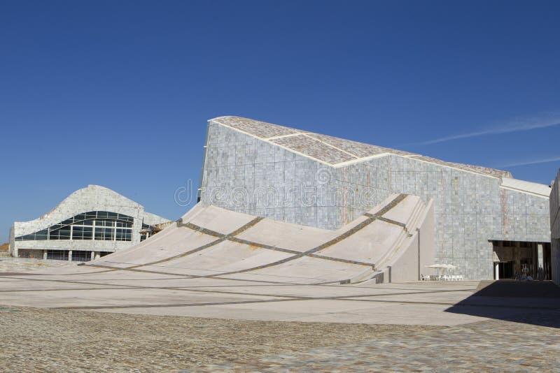 Views of the City of Culture of Santiago de Compostela stock photos