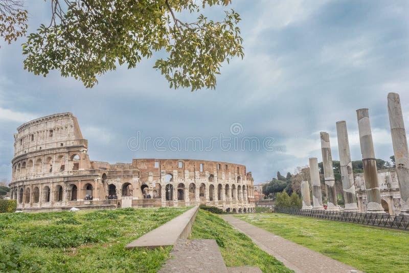 Views of the Coliseum 1 stock photo