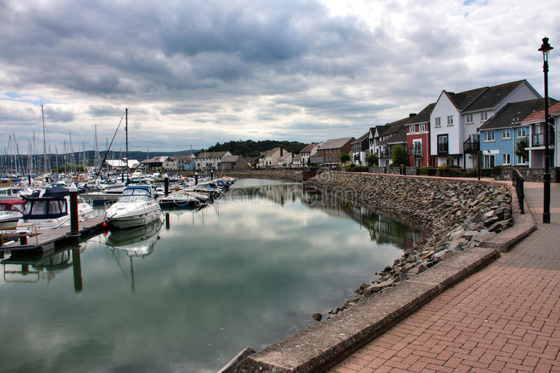 Download Views from Conwy Marina stock photo. Image of coast, yacht - 15072272