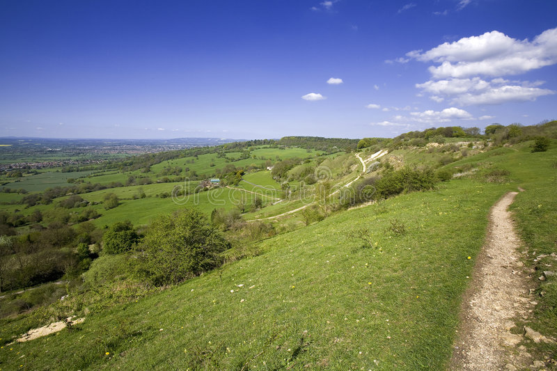 Download Views From Crickley Hill Country Park Near Gloucester Stock Photo - Image: 1356020