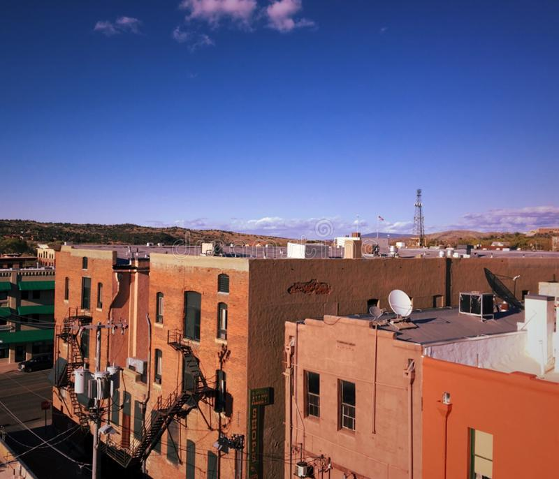 Views of downtown stock photography