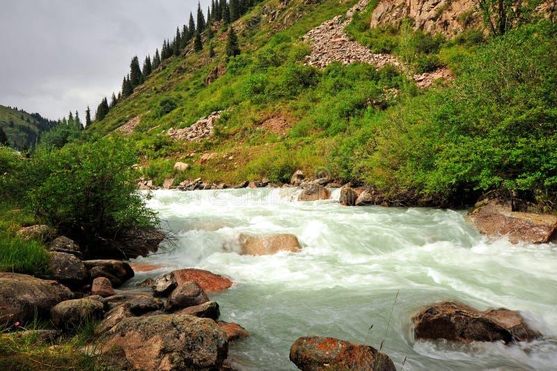 Views of Grigorievsky Gorge. royalty free stock photo