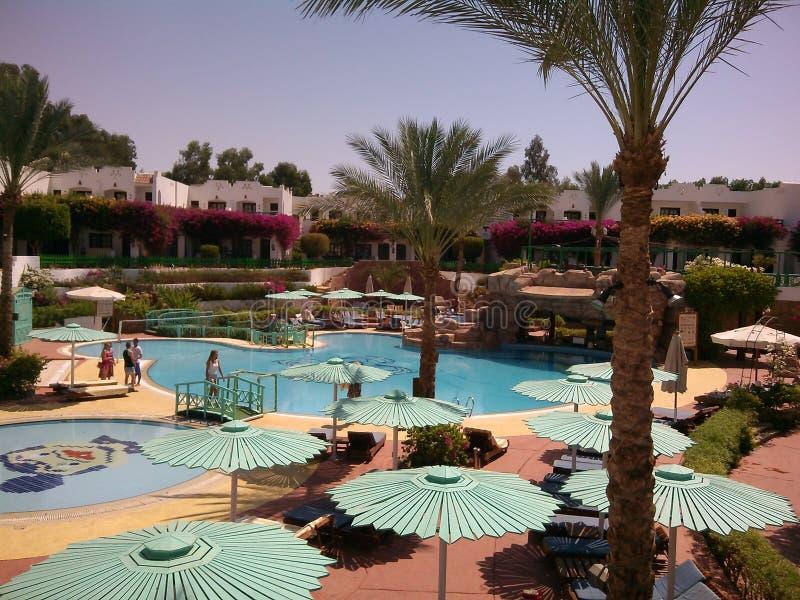 The Hotel Virginia Sharm, Sharm El Sheikh, Egypt. royalty free stock photos