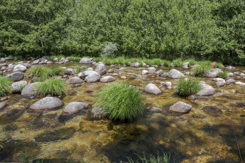 Views of the Minchones Stream stock photo