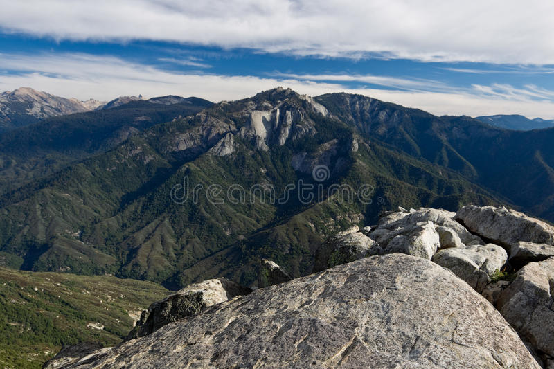Views from Moro Rock royalty free stock photos