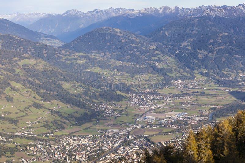 Download Views Over Lienz In Austria Stock Image - Image: 26111311