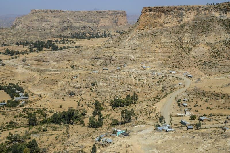 Debre Damo in Tigray, Ethiopia stock photo