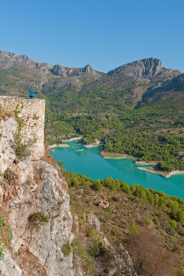 Download Views Of Reservoir Of El Castell De Guadalest. Stock Image - Image: 26829001