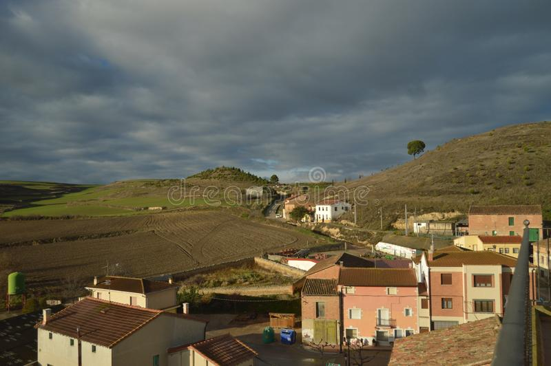 Views Of Rioja Baths Village And Its Beautiful Riojan Meadows With A ...