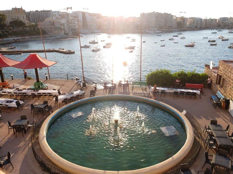 Views in Sliema royalty free stock photos