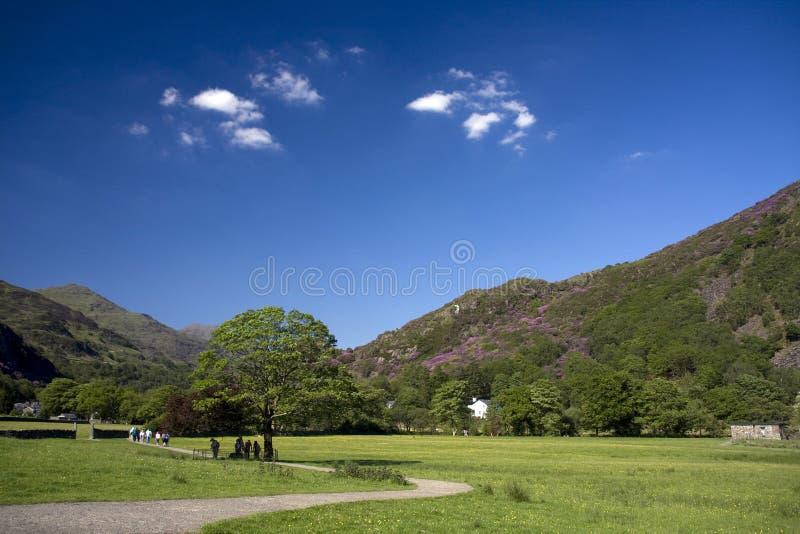 Download Views to Beddgelert stock photo. Image of hills, haze - 18825282