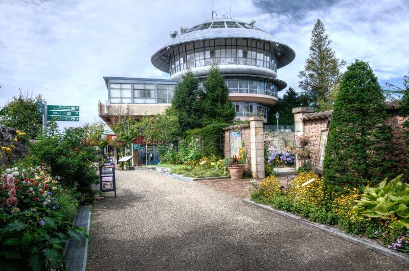 Viewtower in  Garden Museum Hiei, Kyoto, Japan stock photos