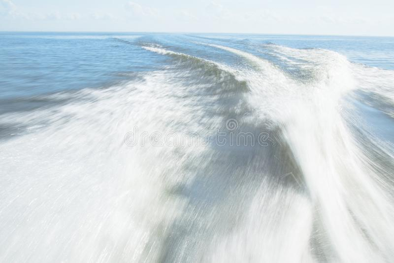 Vigília da lancha no lago Pontchartrain imagem de stock royalty free