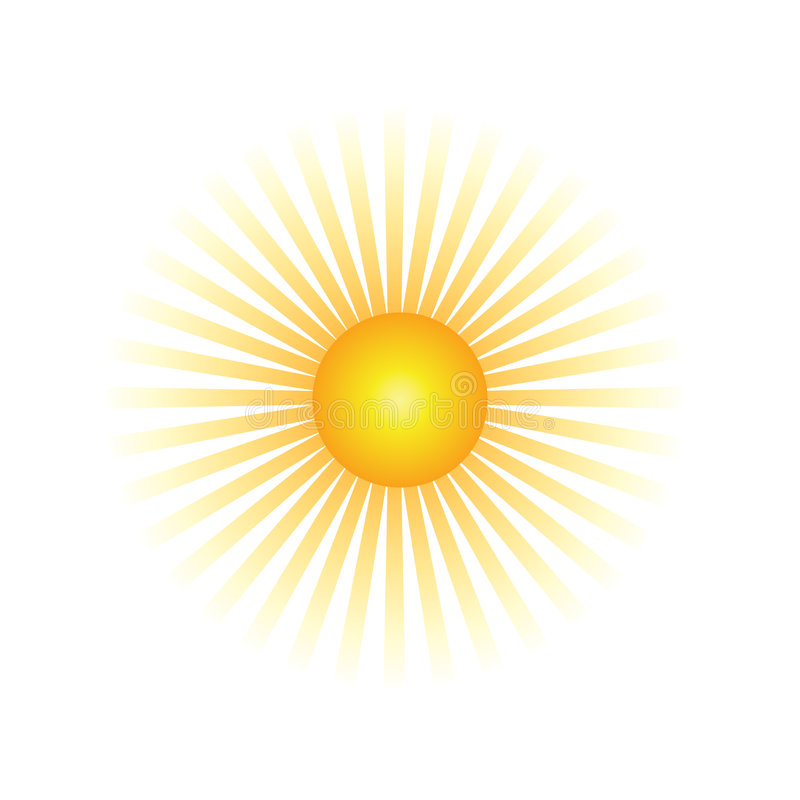 Viga de Sun imagenes de archivo
