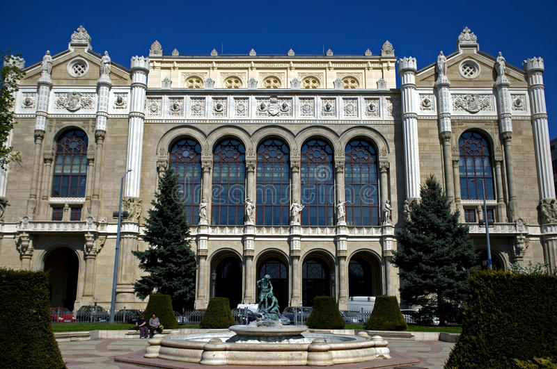 Vigado filharmonia, Budapest, Węgry zdjęcia royalty free