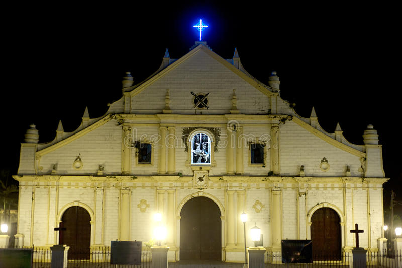 Vigan Cathedral royalty free stock image