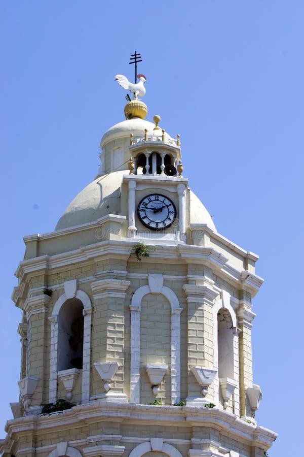 Vigan Katedralny Dzwonkowy wierza zdjęcia stock