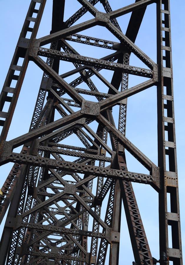 Vigas de puente imágenes de archivo libres de regalías