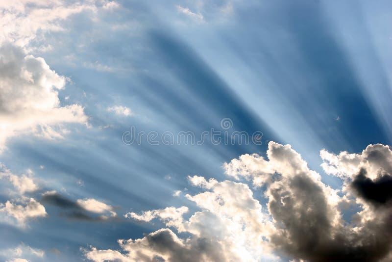 Vigas de Sun imagenes de archivo