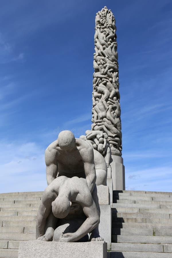 Vigeland Park obraz royalty free