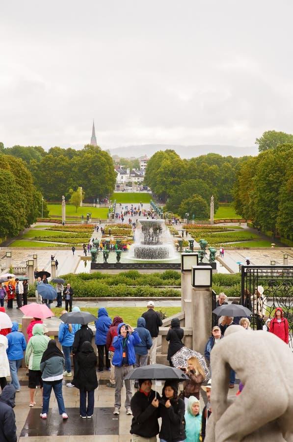 Vigeland Park in Oslo stockfotografie