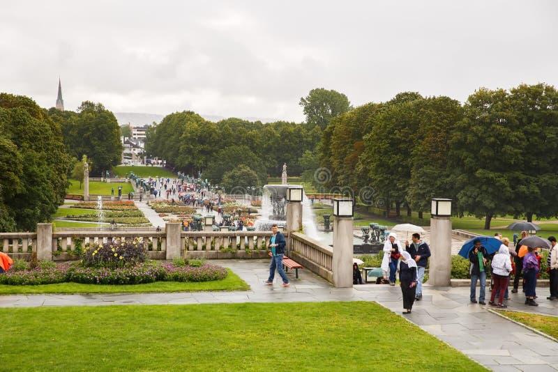 Vigeland Park in Oslo lizenzfreies stockfoto