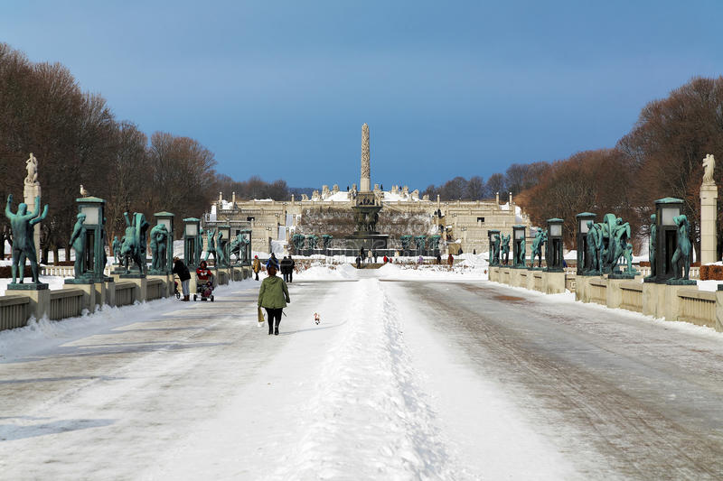 Download Vigeland Sculpture Park In Oslo, Norway Editorial Photo - Image: 18883546