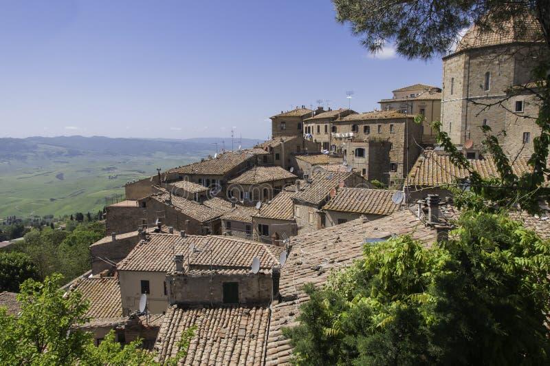 Vigia em Volterra fotos de stock