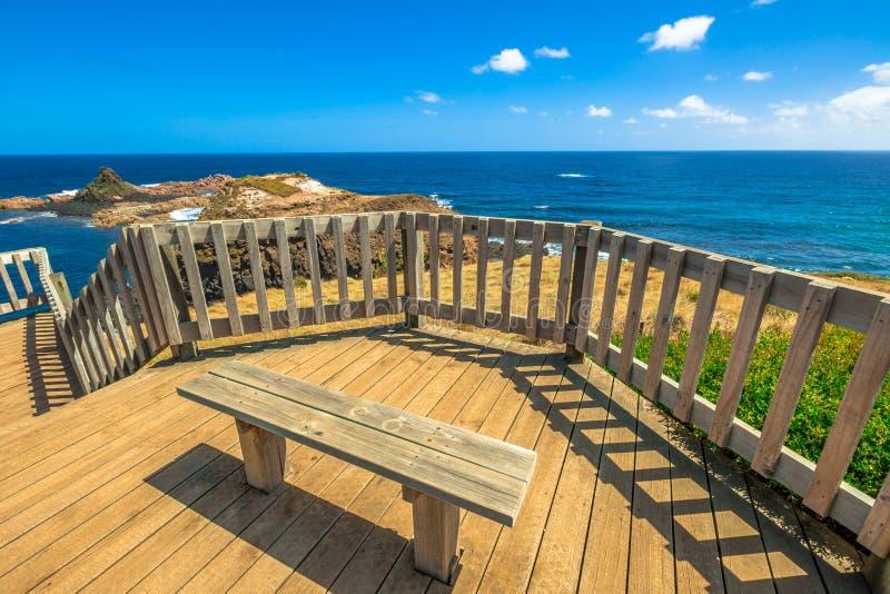 Vigia Phillip Island imagem de stock royalty free