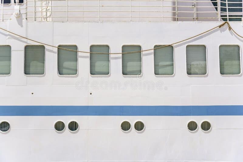 Vigias do navio do navio grande foto de stock