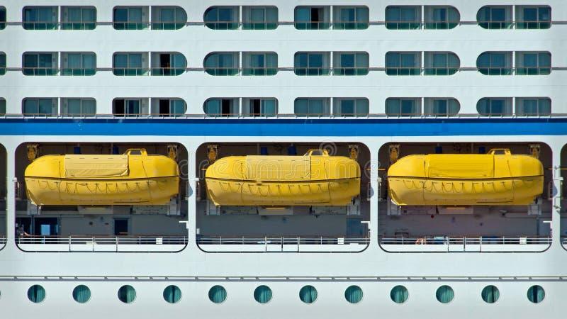 Vigias e barcos salva-vidas imagens de stock royalty free