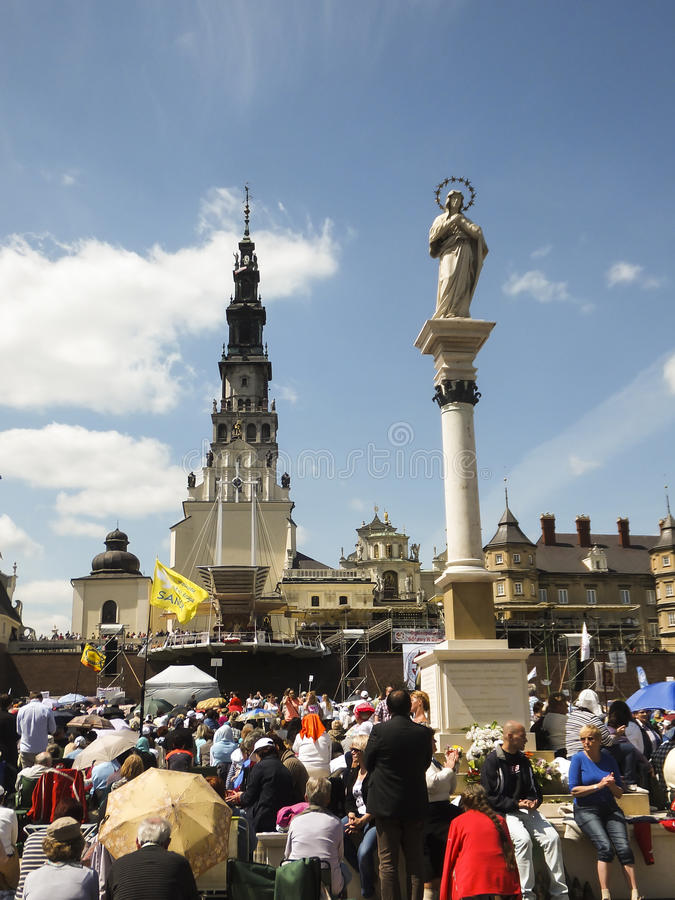 Vigil Catholic Charismatic Renewal royalty free stock photography