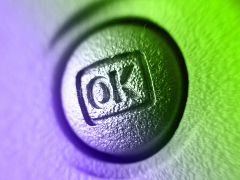 Vigile el botón imágenes de archivo libres de regalías