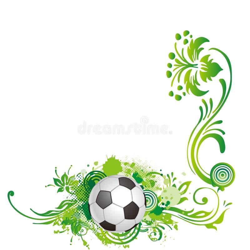 Vigne du football illustration libre de droits