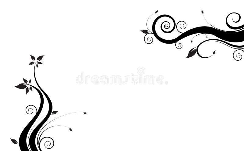 Vigne noire illustration stock