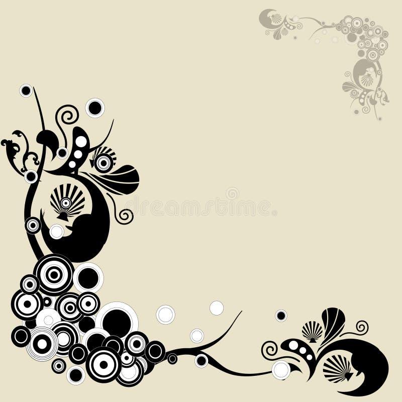 Vigne peinte à la main illustration de vecteur