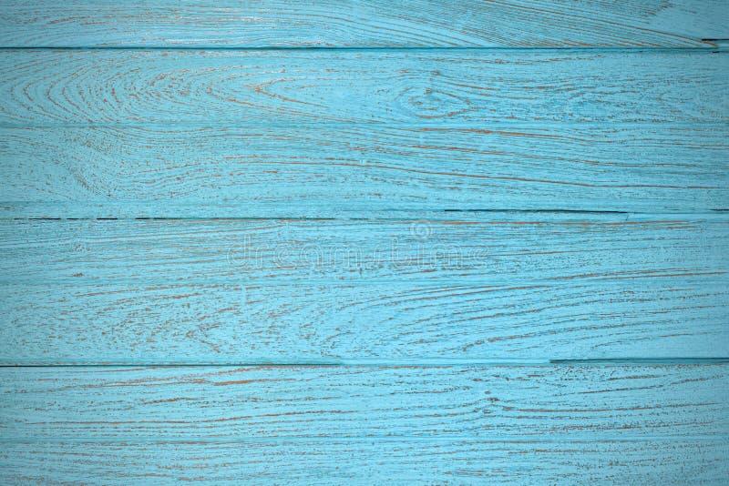 Vignette bleue de papier peint de texture de fond de teck en bois photos stock