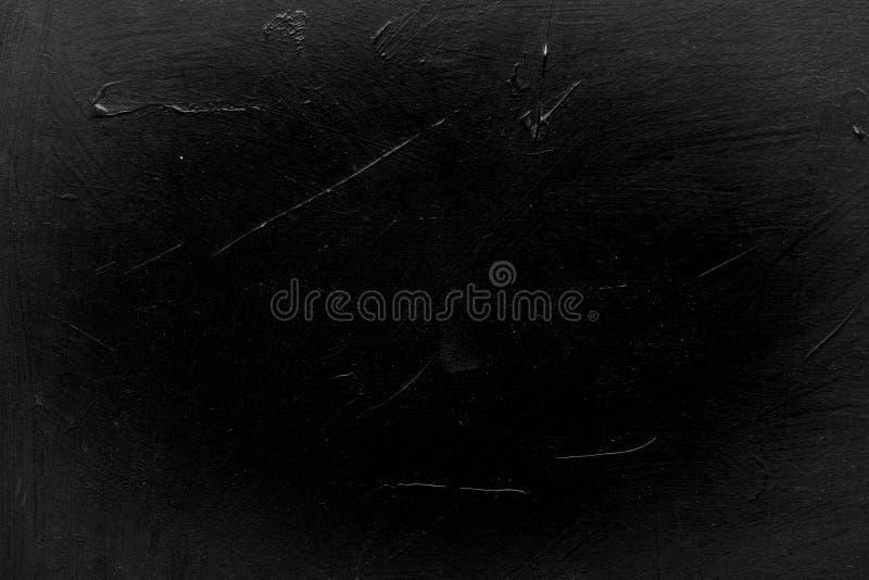 Vignette de plâtre de noir de texture de fond d'éraflure photographie stock libre de droits