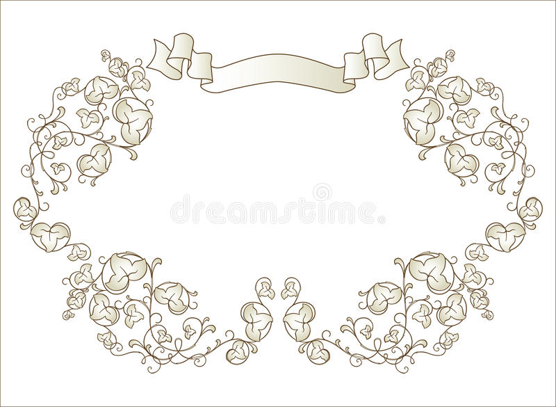 Download Vignette With Ribbon Stock Photos - Image: 10033993