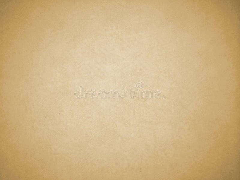 Vignetten-Brown-Farbhintergrund-Beschaffenheit als Feld mit weißem Schatten in der Mitte zu Input Text, Weinlese-Art stockbilder