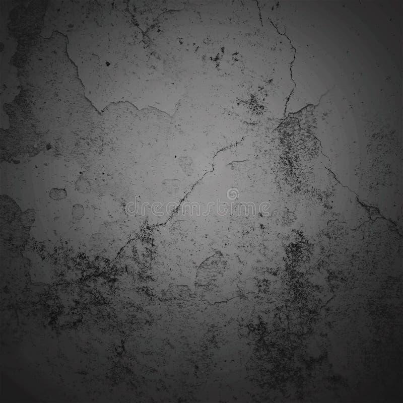 Vignetten-Grenzrahmen des Zusammenfassungshintergrundes dunkler mit grauem Beschaffenheitshintergrund Weinleseschmutz-Hintergrund stockfotos