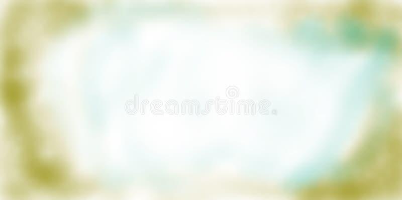 Vignettenhintergrund in den weichen Farben stockbild