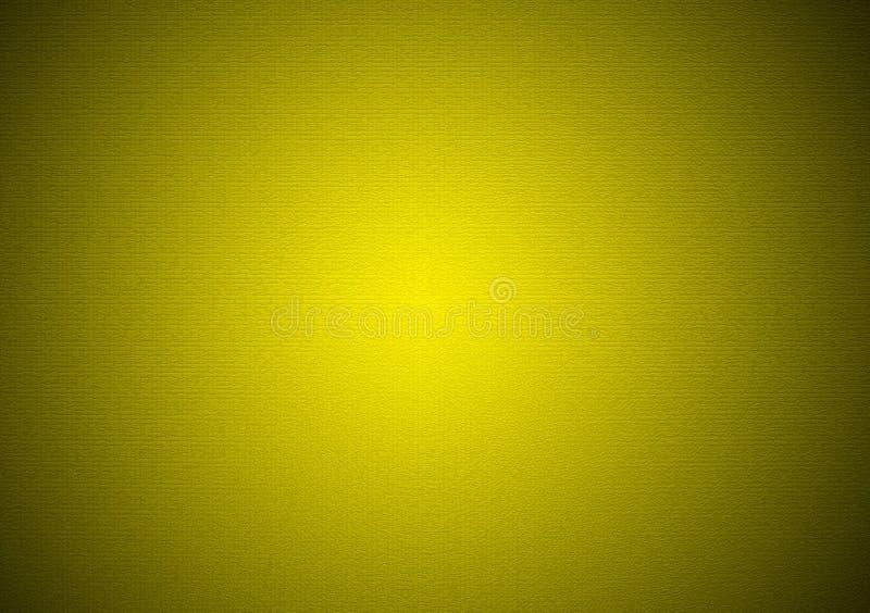 Vignettenhintergrund-Steigungstapete des Gelbgrüns einfache stock abbildung